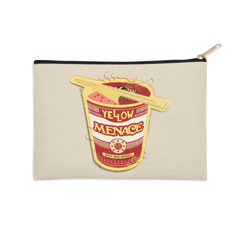 YM Cup Noodles: Campbells Accessories Zip Pouch by YellowMenace Shop
