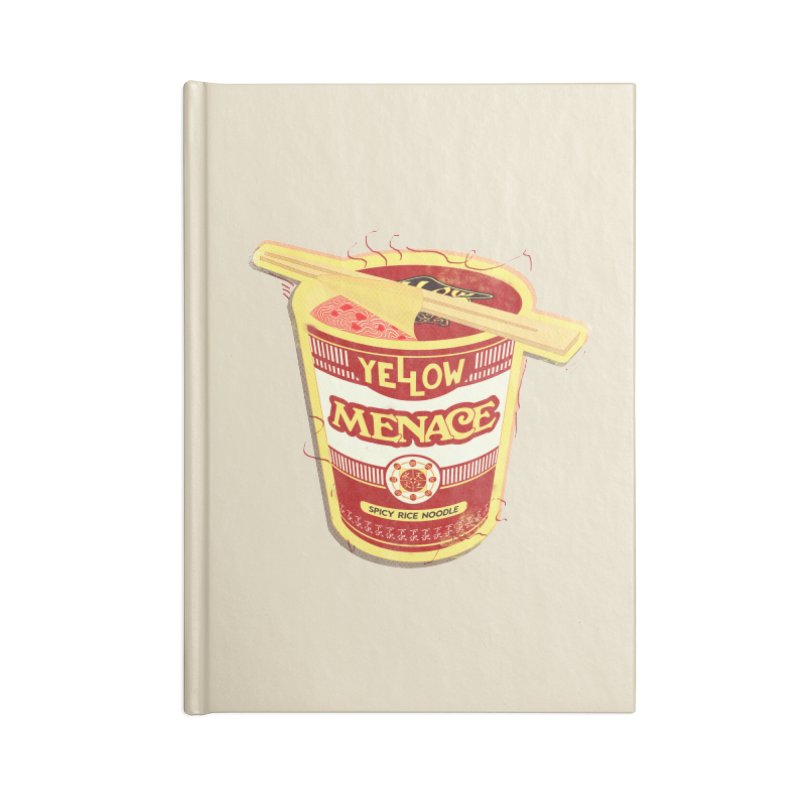 YM Cup Noodles: Campbells Accessories Lined Journal Notebook by YellowMenace Shop