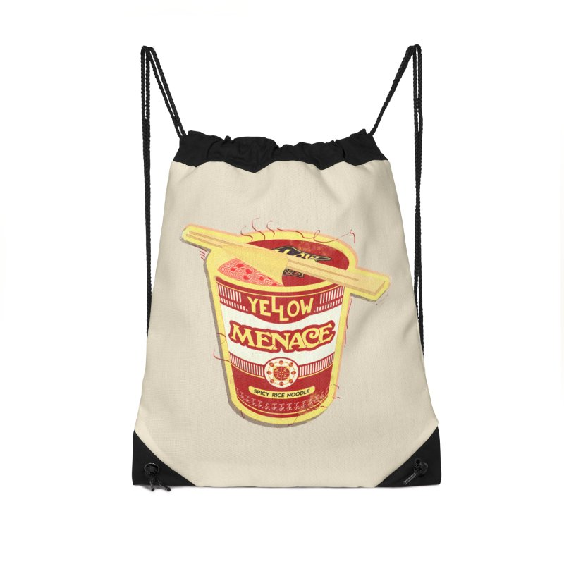 YM Cup Noodles: Campbells Accessories Drawstring Bag Bag by YellowMenace Shop