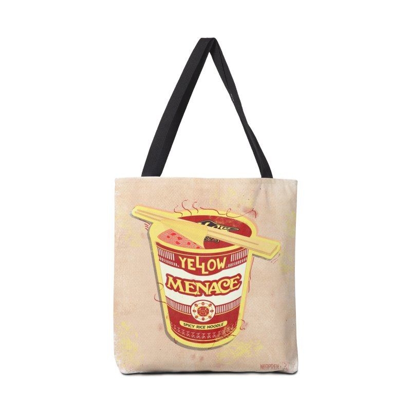 YM Cup Noodles: Campbells Accessories Bag by YellowMenace Shop