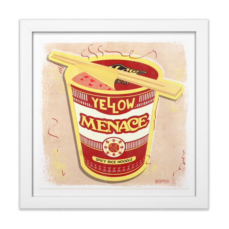 YM Cup Noodles: Campbells Home Framed Fine Art Print by YellowMenace Shop