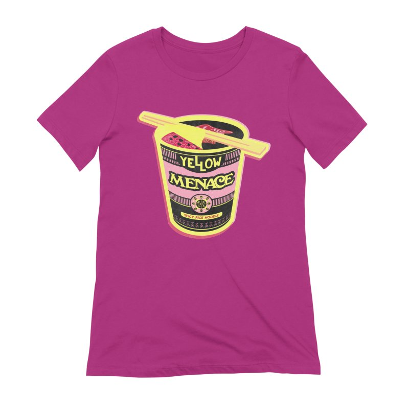 YM Cup Noodles: Cotton Candy Women's Extra Soft T-Shirt by YellowMenace Shop