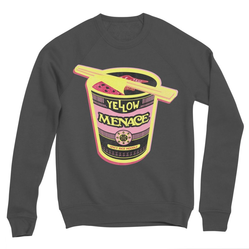 YM Cup Noodles: Cotton Candy Men's Sponge Fleece Sweatshirt by YellowMenace Shop