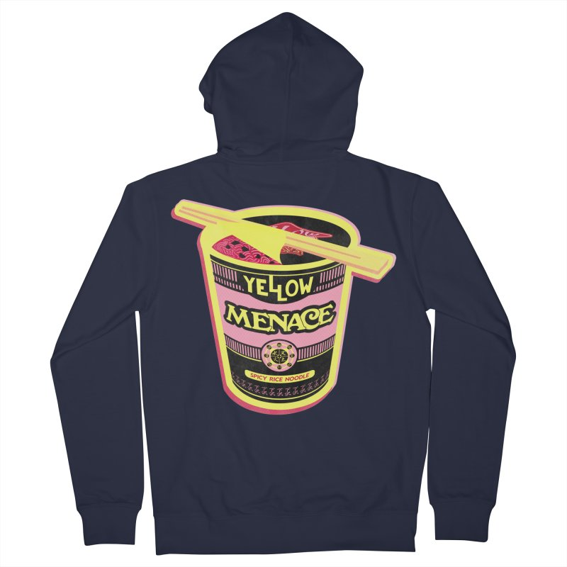 YM Cup Noodles: Cotton Candy Women's French Terry Zip-Up Hoody by YellowMenace Shop
