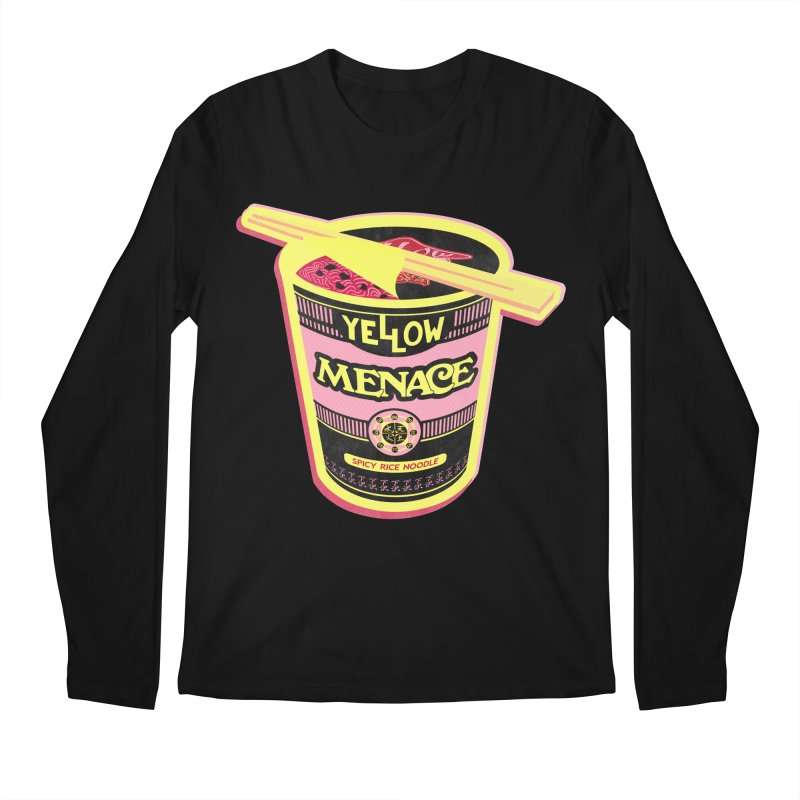 YM Cup Noodles: Cotton Candy Men's Regular Longsleeve T-Shirt by YellowMenace Shop