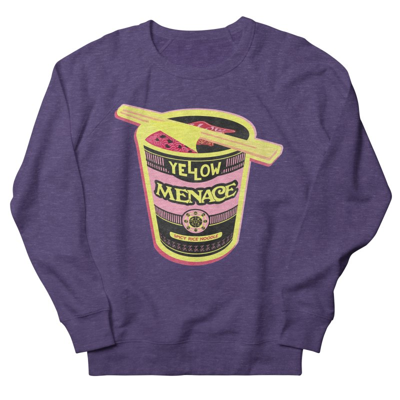YM Cup Noodles: Cotton Candy Men's French Terry Sweatshirt by YellowMenace Shop