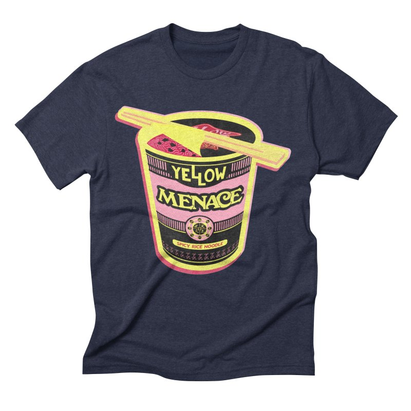 YM Cup Noodles: Cotton Candy Men's Triblend T-Shirt by YellowMenace Shop