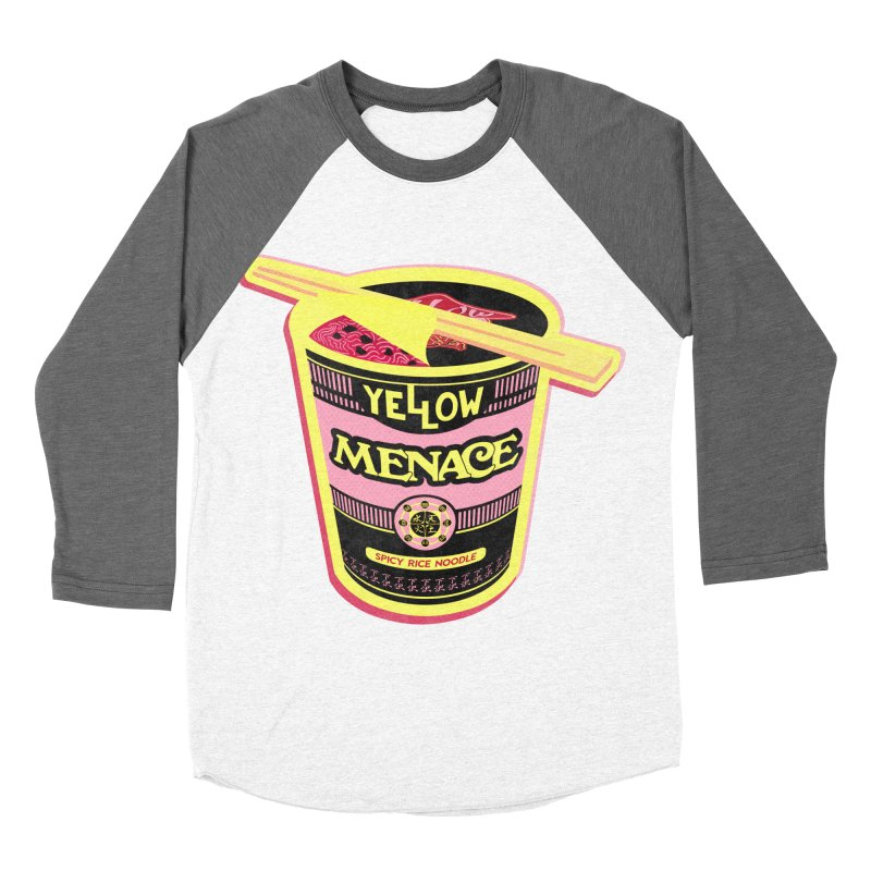 YM Cup Noodles: Cotton Candy Women's Baseball Triblend Longsleeve T-Shirt by YellowMenace Shop