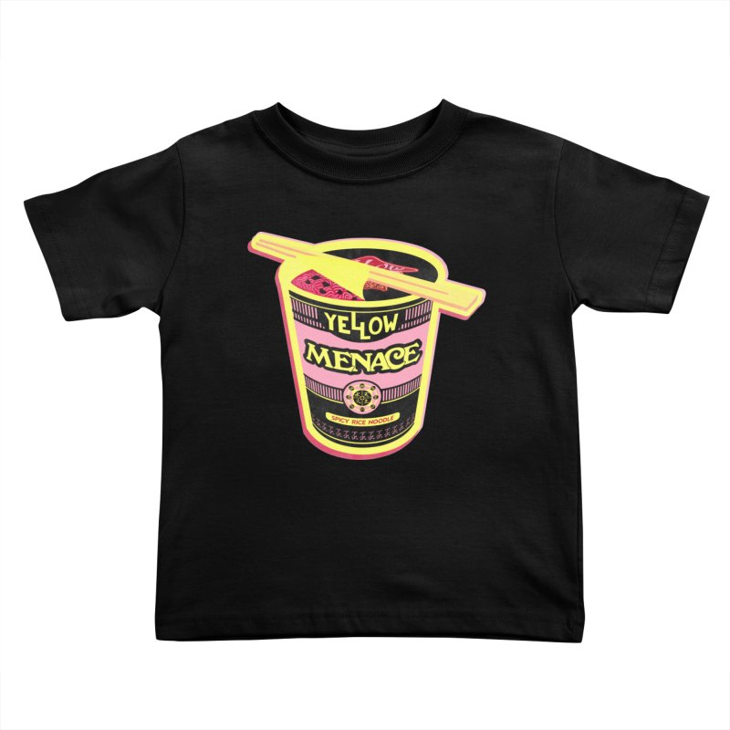 YM Cup Noodles: Cotton Candy Kids Toddler T-Shirt by YellowMenace Shop