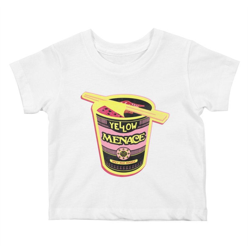 YM Cup Noodles: Cotton Candy Kids Baby T-Shirt by YellowMenace Shop