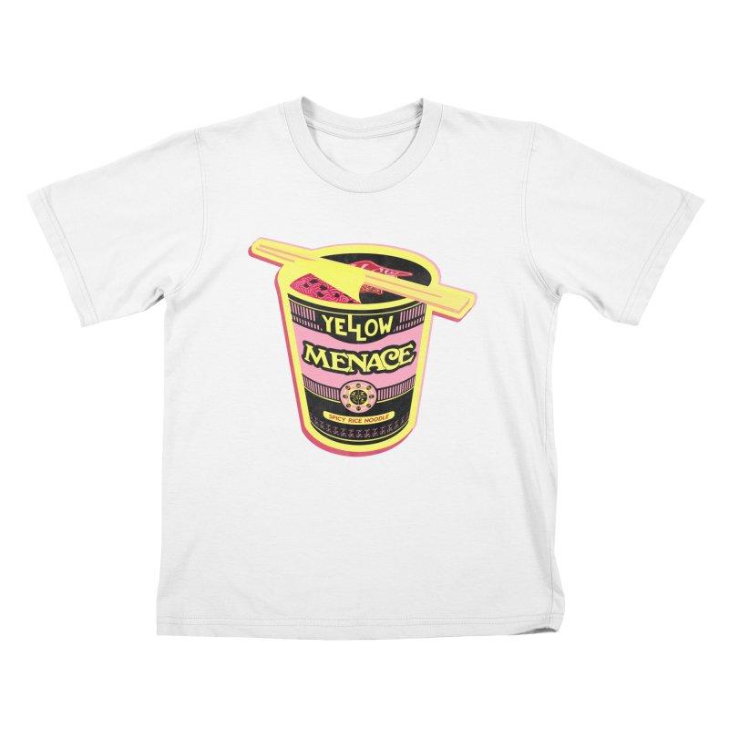 YM Cup Noodles: Cotton Candy Kids T-Shirt by YellowMenace Shop