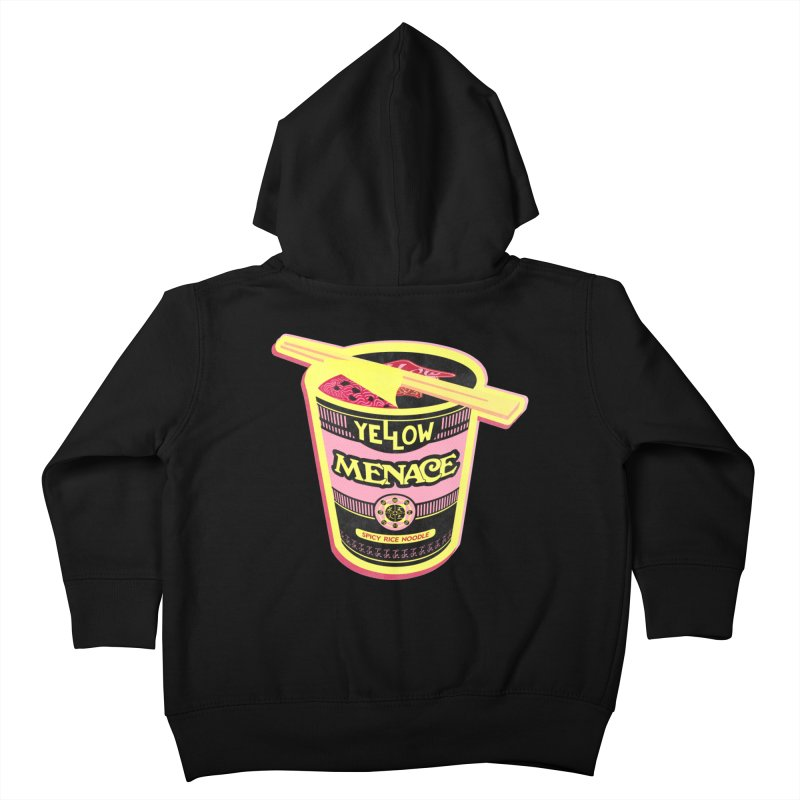YM Cup Noodles: Cotton Candy Kids Toddler Zip-Up Hoody by YellowMenace Shop