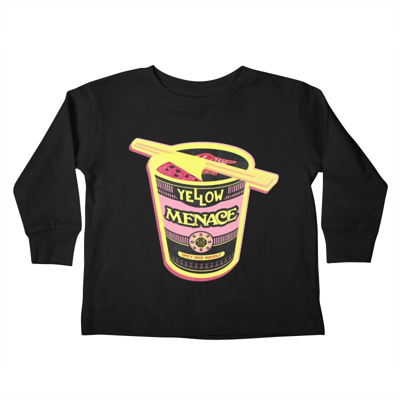 YM Cup Noodles: Cotton Candy Kids Toddler Longsleeve T-Shirt by YellowMenace Shop