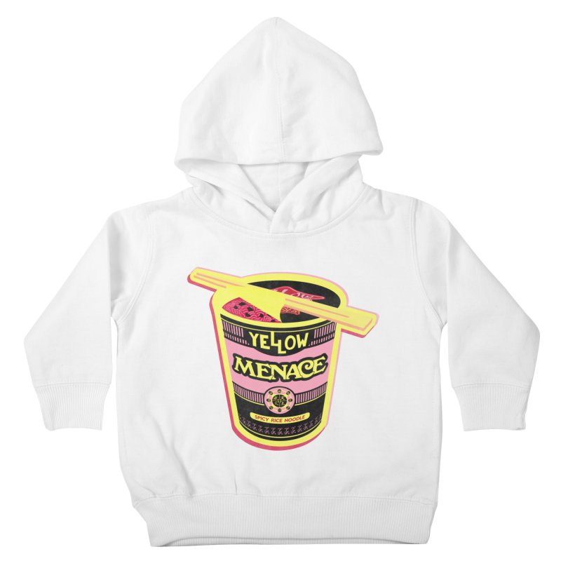 YM Cup Noodles: Cotton Candy Kids Toddler Pullover Hoody by YellowMenace Shop