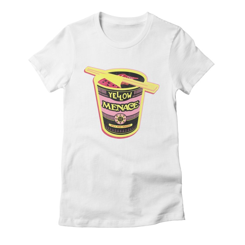 YM Cup Noodles: Cotton Candy Women's Fitted T-Shirt by YellowMenace Shop