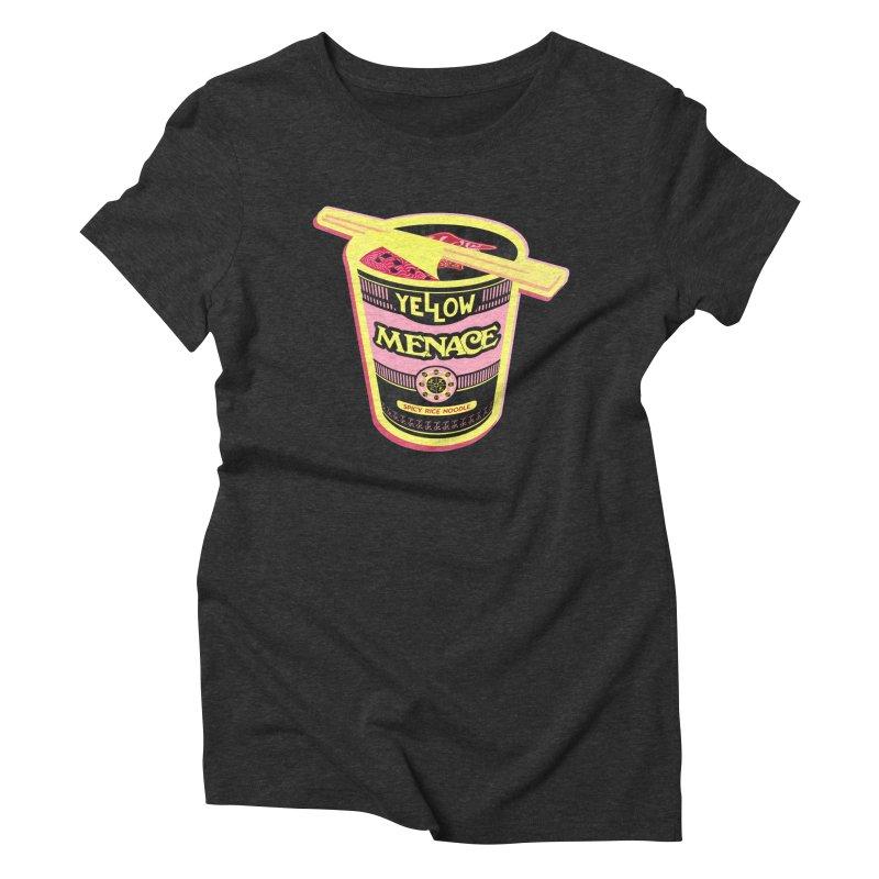 YM Cup Noodles: Cotton Candy Women's Triblend T-Shirt by YellowMenace Shop