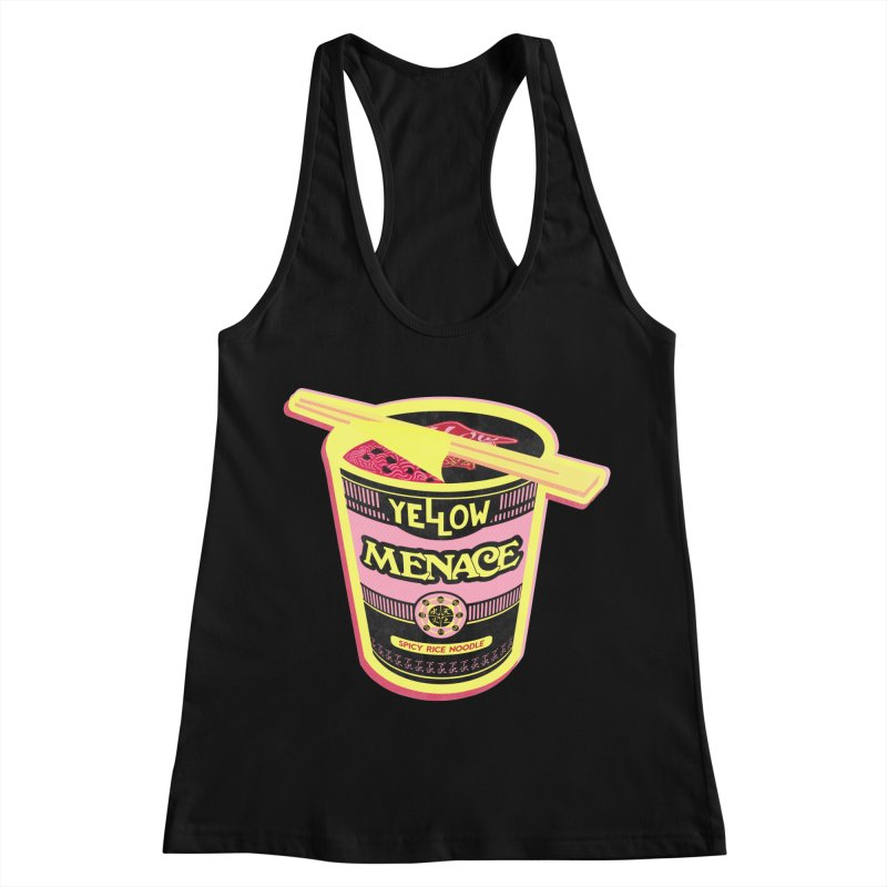 YM Cup Noodles: Cotton Candy Women's Racerback Tank by YellowMenace Shop
