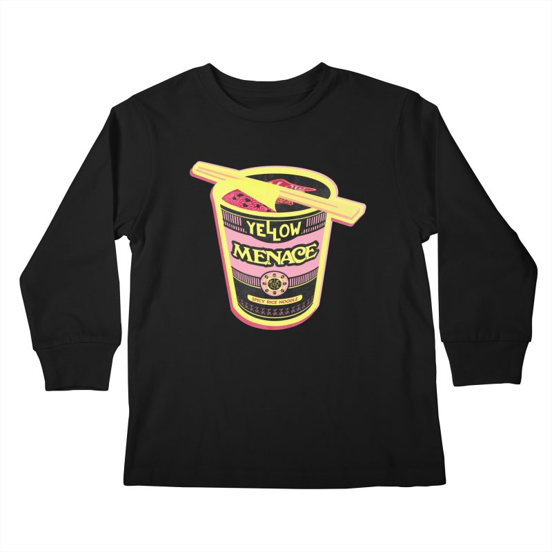 YM Cup Noodles: Cotton Candy Kids Longsleeve T-Shirt by YellowMenace Shop