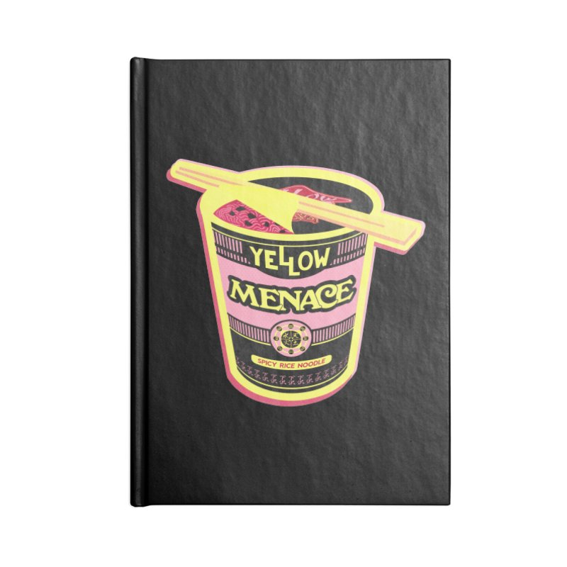 YM Cup Noodles: Cotton Candy Accessories Lined Journal Notebook by YellowMenace Shop