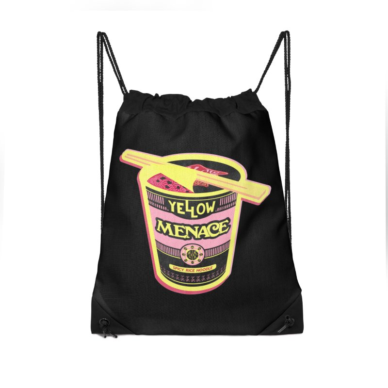 YM Cup Noodles: Cotton Candy Accessories Bag by YellowMenace Shop