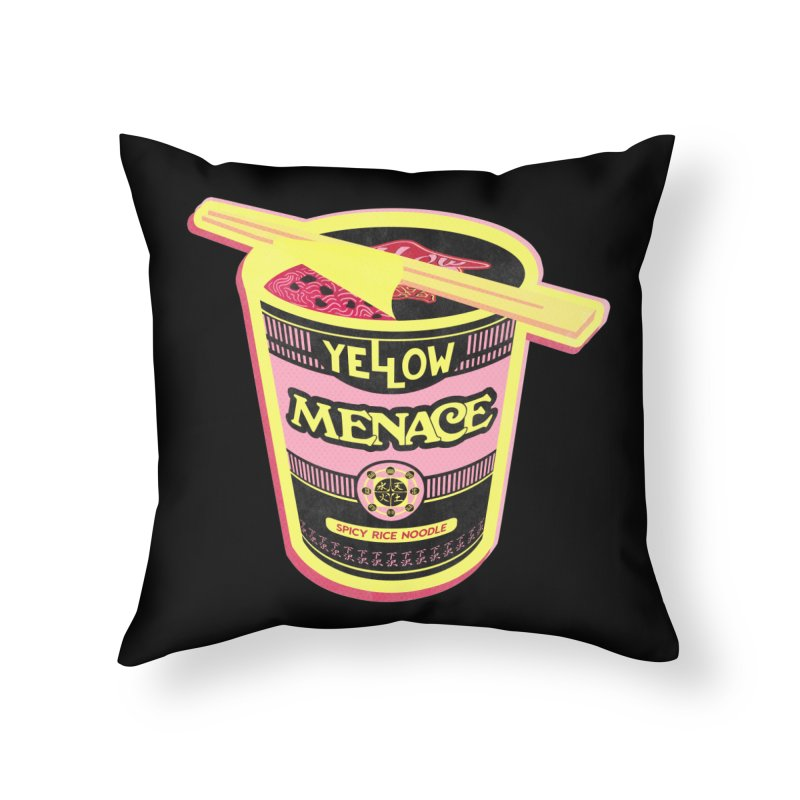 YM Cup Noodles: Cotton Candy Home Throw Pillow by YellowMenace Shop