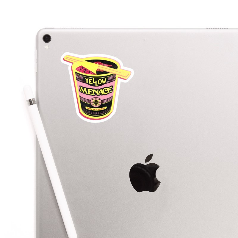 YM Cup Noodles: Cotton Candy Accessories Sticker by YellowMenace Shop