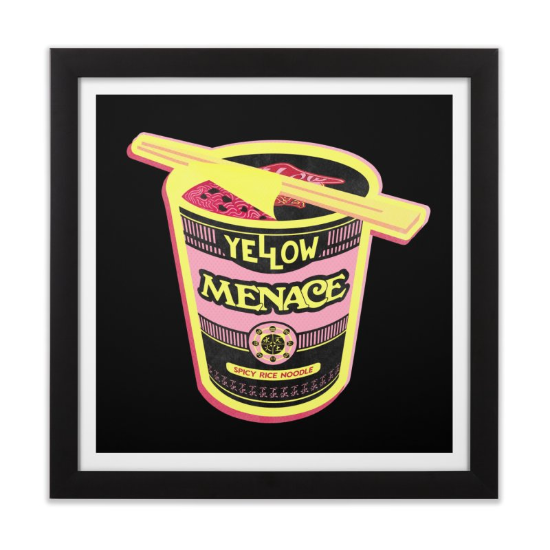 YM Cup Noodles: Cotton Candy Home Framed Fine Art Print by YellowMenace Shop