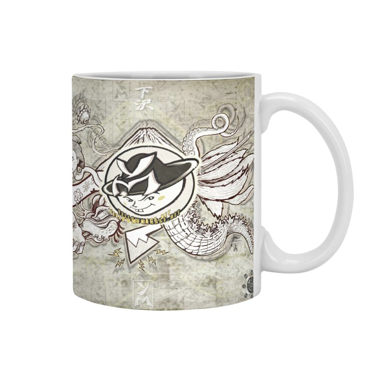 YM Japanese Tails Accessories Mug by YellowMenace Shop