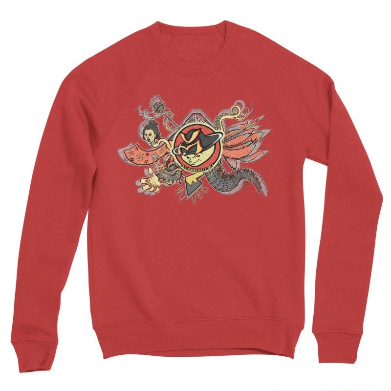 YM Japanese Tails Men's Sweatshirt by YellowMenace Shop