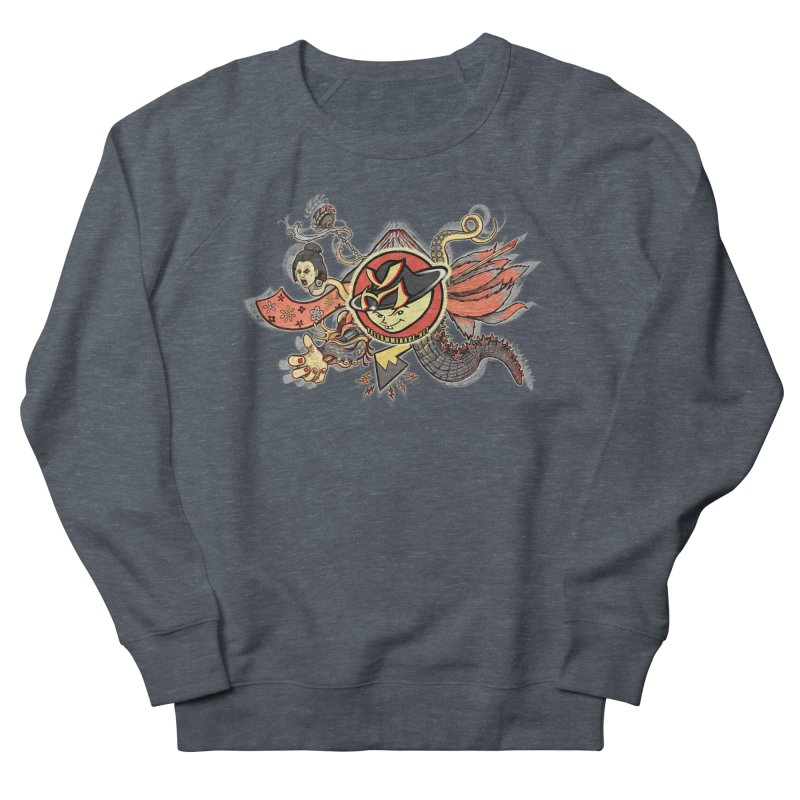 YM Japanese Tails Men's Sweatshirt by YellowMenace Shop
