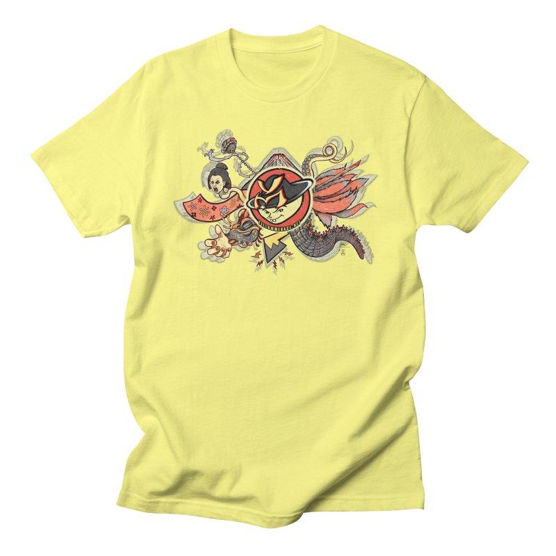 YM Japanese Tails Women's Regular Unisex T-Shirt by YellowMenace Shop