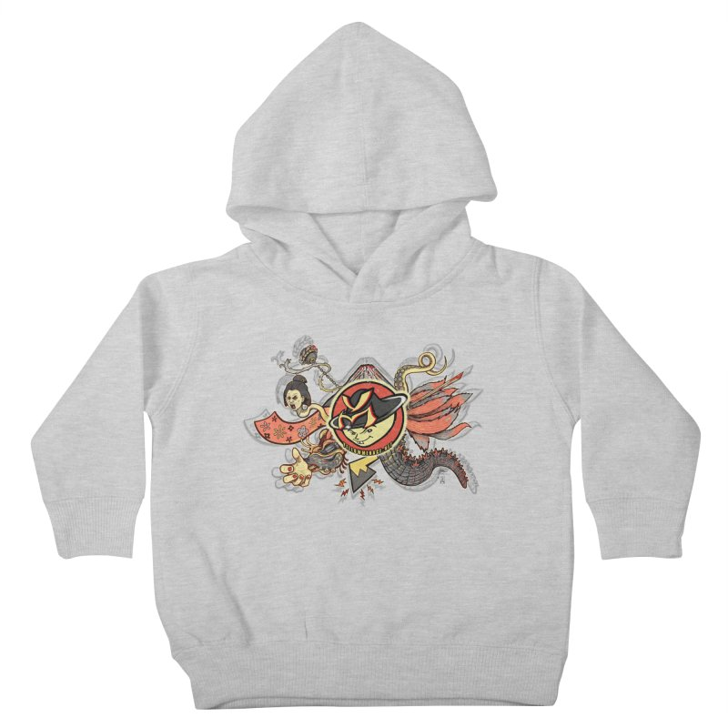 YM Japanese Tails Kids Toddler Pullover Hoody by YellowMenace Shop