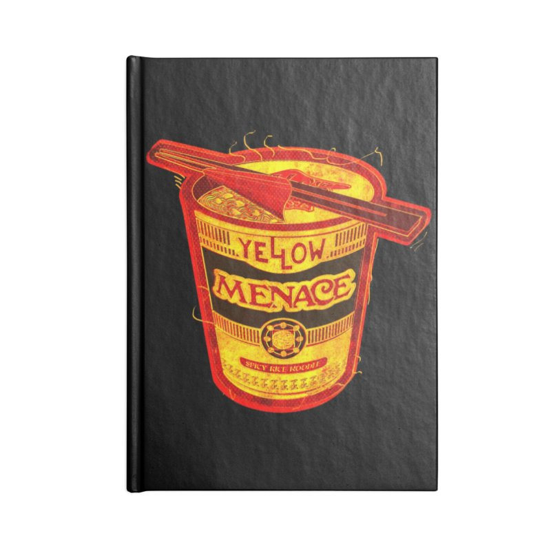 YM Noodles: Chinese Takeout Accessories Lined Journal Notebook by YellowMenace Shop