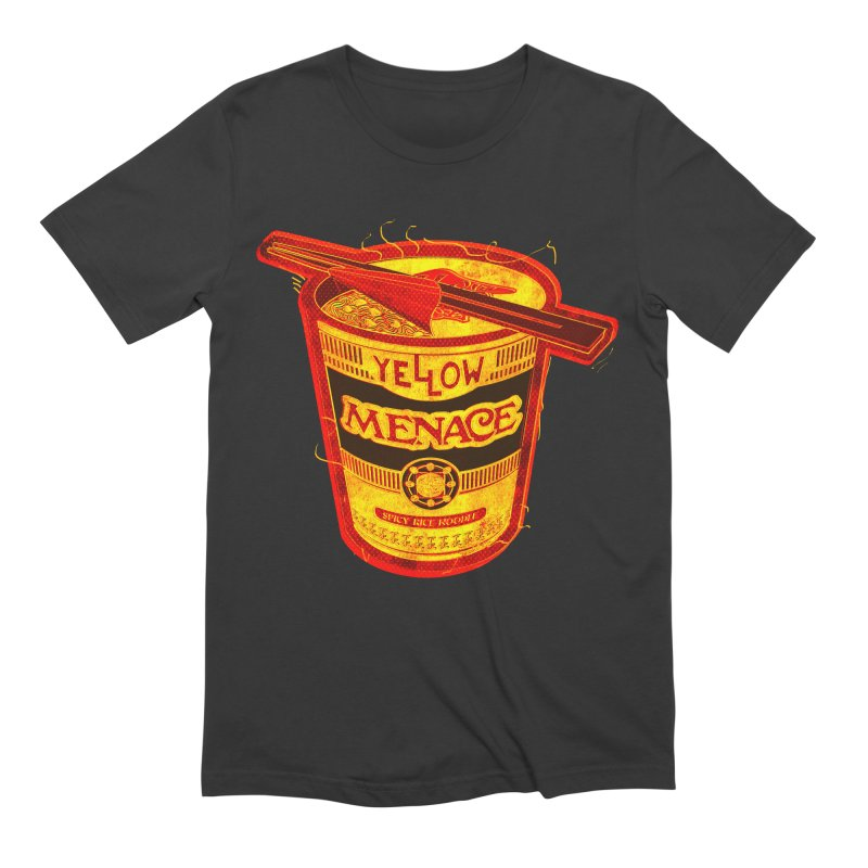YM Noodles: Chinese Takeout Men's Extra Soft T-Shirt by YellowMenace Shop