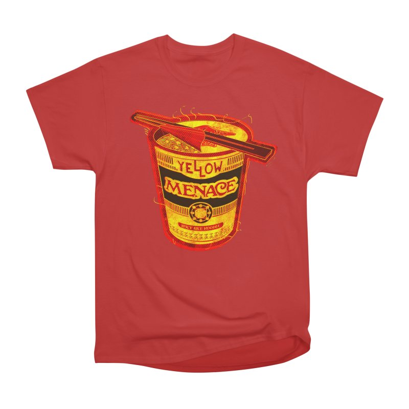 YM Noodles: Chinese Takeout Women's T-Shirt by YellowMenace Shop