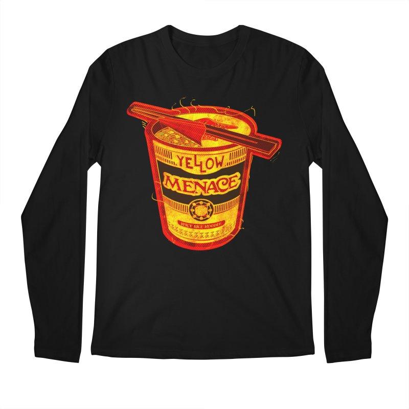 YM Noodles: Chinese Takeout Men's Longsleeve T-Shirt by YellowMenace Shop