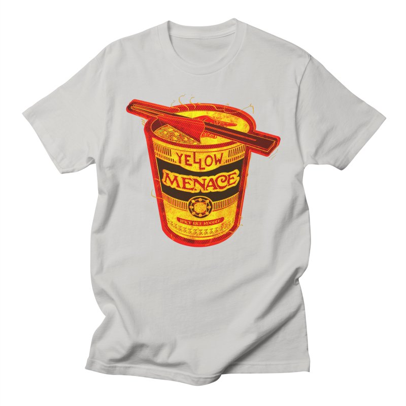 YM Noodles: Chinese Takeout Men's T-Shirt by YellowMenace Shop