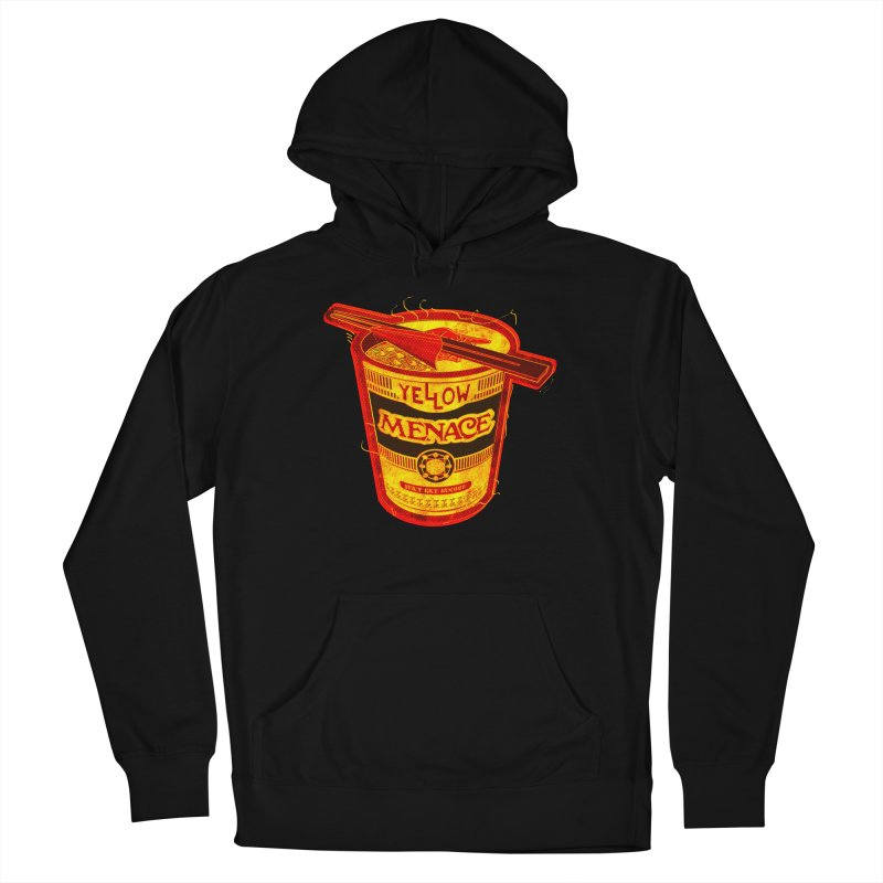 YM Noodles: Chinese Takeout Men's Pullover Hoody by YellowMenace Shop