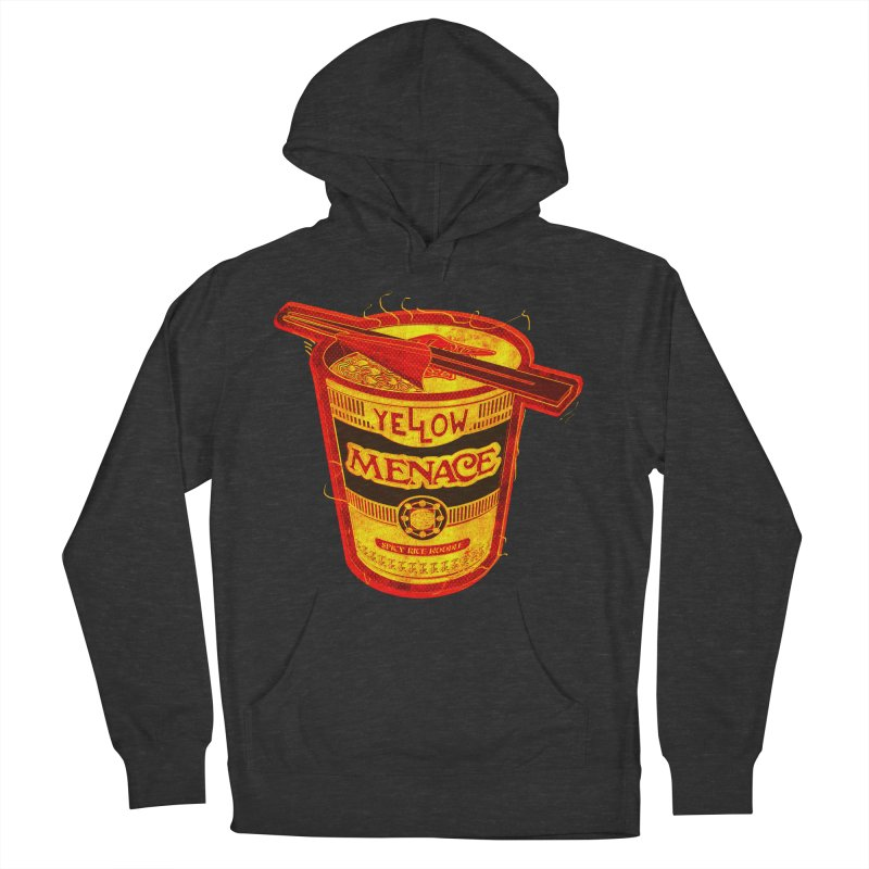YM Noodles: Chinese Takeout Men's French Terry Pullover Hoody by YellowMenace Shop