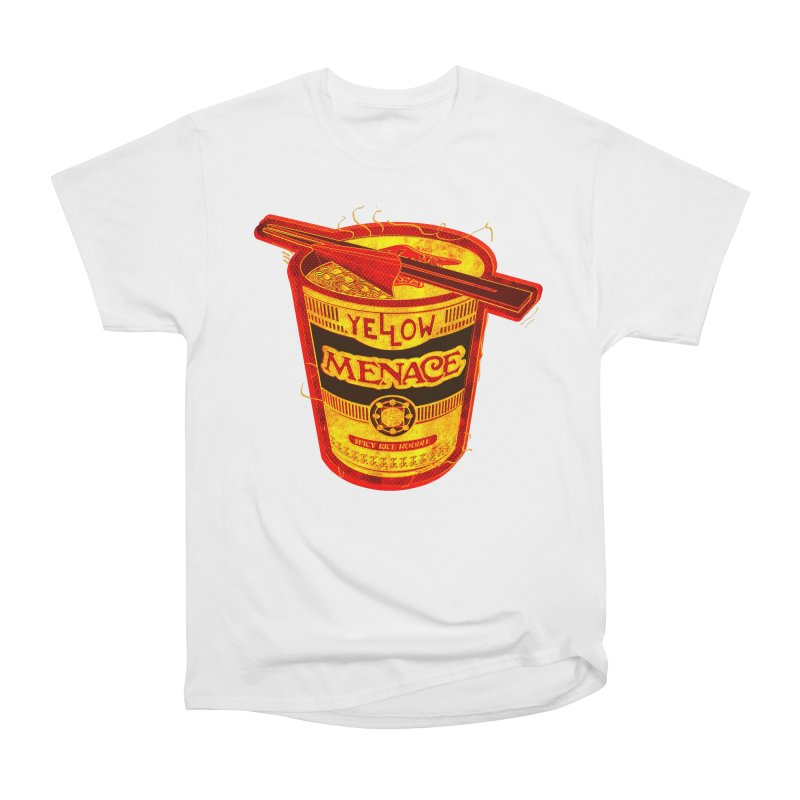 YM Noodles: Chinese Takeout Men's Heavyweight T-Shirt by YellowMenace Shop