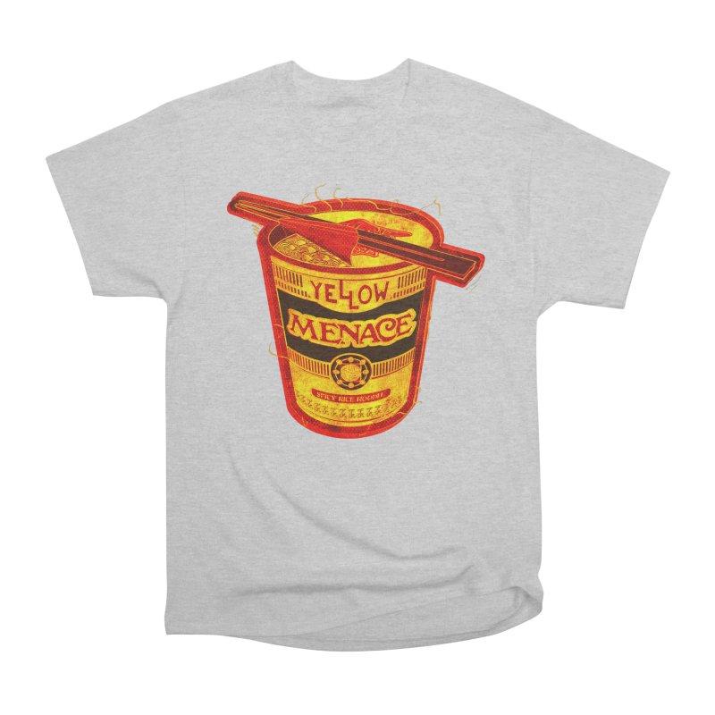 YM Noodles: Chinese Takeout Women's Heavyweight Unisex T-Shirt by YellowMenace Shop