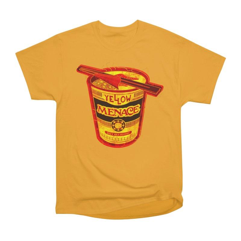 YM Noodles: Chinese Takeout Men's Heavyweight T-Shirt by YellowMenace Shop