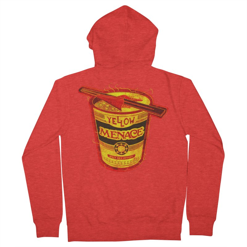 YM Noodles: Chinese Takeout Women's Zip-Up Hoody by YellowMenace Shop