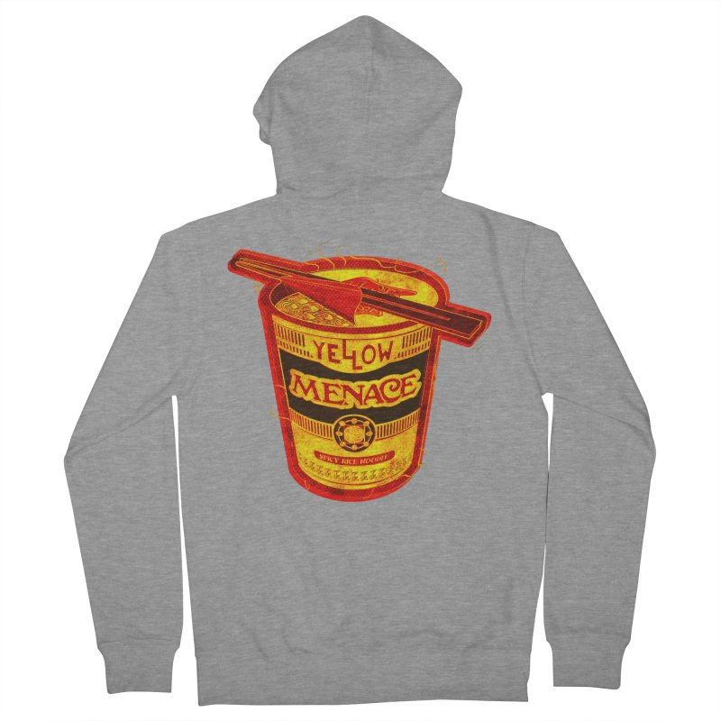 YM Noodles: Chinese Takeout Women's French Terry Zip-Up Hoody by YellowMenace Shop