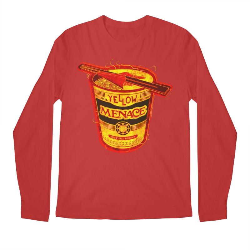 YM Noodles: Chinese Takeout Men's Regular Longsleeve T-Shirt by YellowMenace Shop