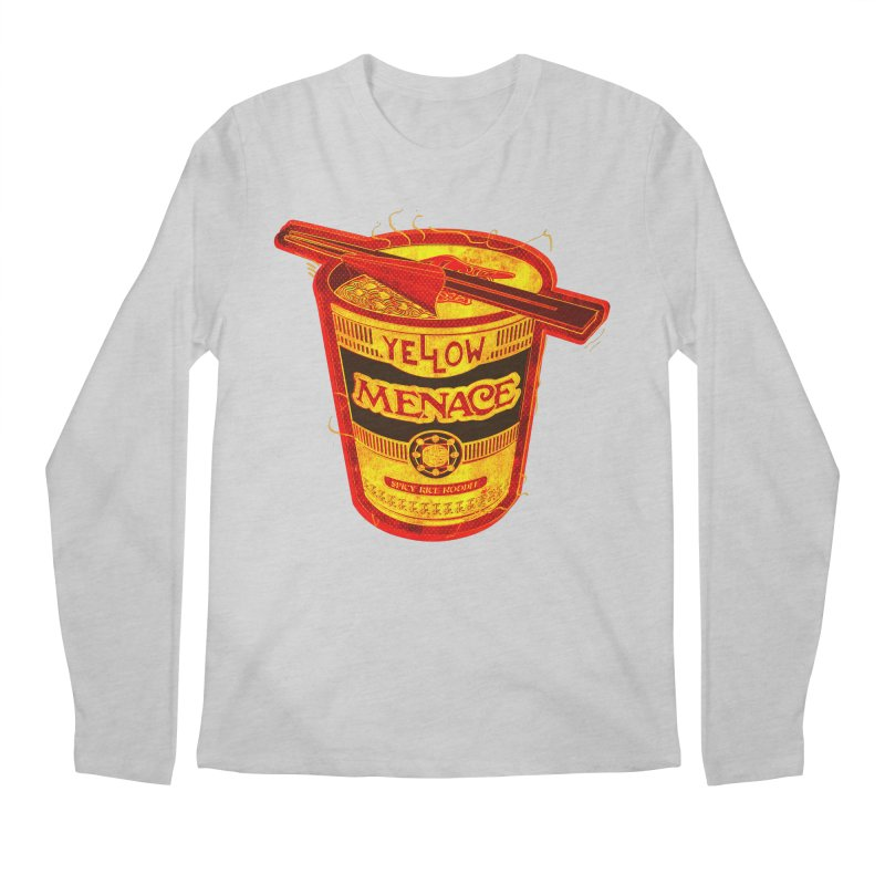 YM Noodles: Chinese Takeout Men's Regular Longsleeve T-Shirt by YellowMenace Shop