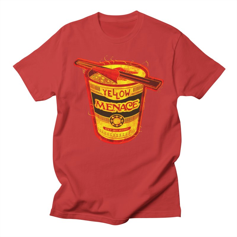 YM Noodles: Chinese Takeout Men's Regular T-Shirt by YellowMenace Shop
