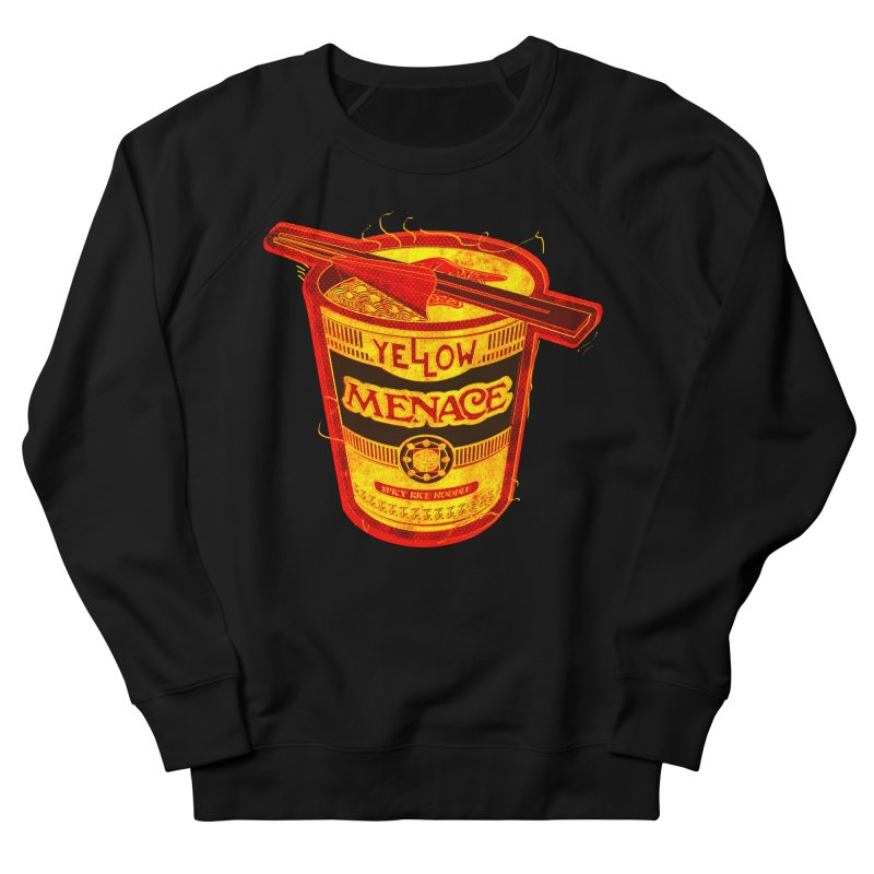 YM Noodles: Chinese Takeout Women's French Terry Sweatshirt by YellowMenace Shop