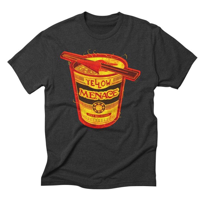 YM Noodles: Chinese Takeout Men's Triblend T-Shirt by YellowMenace Shop
