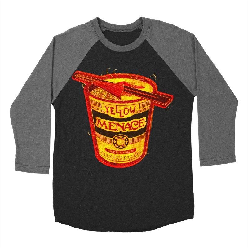 YM Noodles: Chinese Takeout Women's Baseball Triblend Longsleeve T-Shirt by YellowMenace Shop